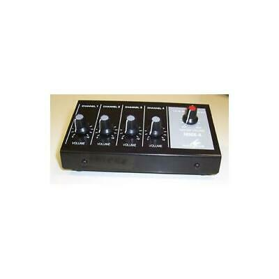 Soundlab - Mmx-4 24.1070 - 4-channel Microphone Mixer , Compact • 39.29£