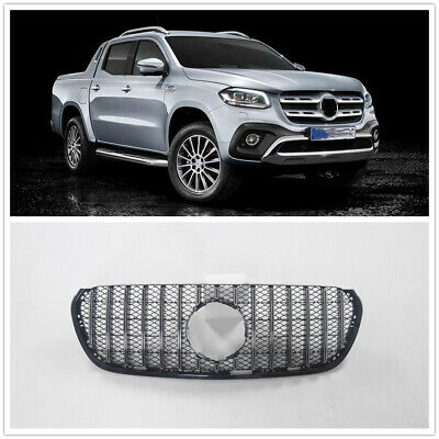 AU438 • Buy Front Grille Upper Grill For Mercedes Benz X-Class 2018+ Silver MA