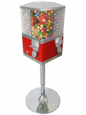 Quad Bouncy Ball / Sweet, Retro Coin Operated Vending Machine. Commercial Grade • 238.80£