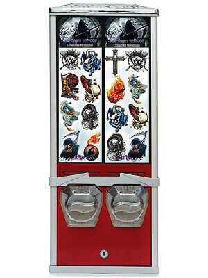 Retro Novelty Tattoo Coin Operated Vending Machine. Commercial Grade • 100£