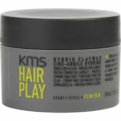 AU34.35 • Buy Kms Hair Play Hybrid Claywax 50ml Styling Hair Clay