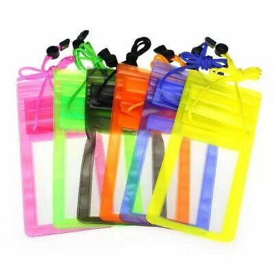 £2.99 • Buy Waterproof Phone IPhone Keys Watch Dry Bag Sports Beach Pouch Case 5 Colours