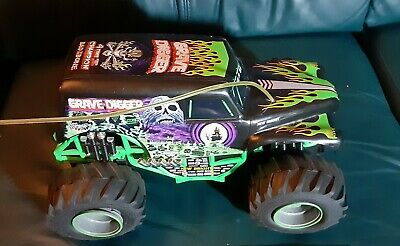 Grave Digger Rc Remote Control Monster Truck Car Not Tested Low Mileage Clean • 21.60£