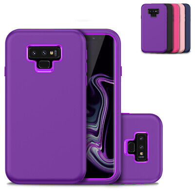 $ CDN8.28 • Buy For Samsung Galaxy Note 9 Heavy Duty Case Hard PC Soft Silicone Shockproof Cover