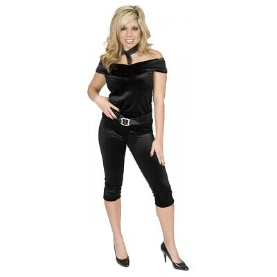 AU16.82 • Buy Greaser Girl Outfit Adult 50s Costume Halloween Fancy Dress