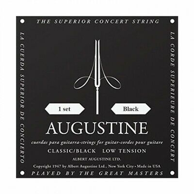 $ CDN12.76 • Buy Augustine Black Label Classical Guitar Strings Low Tension Set - ABK