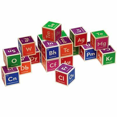 $99.95 • Buy Uncle Goose Elemental Periodic Table Wooden Blocks 600150