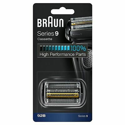 AU82.71 • Buy Braun 92b Series 9 Electric Shaver Replacement Foil Cassette Cartridge - Black
