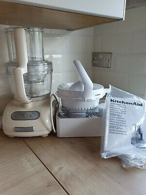 View Details Kitchen Aid Food Processor 5KFPM775 In Cream New Unused Boxed  • 160.00£