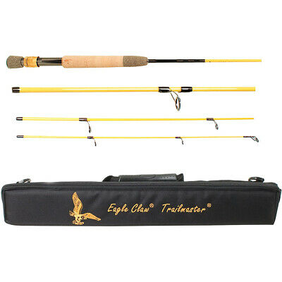$75.99 • Buy Eagle Claw 8'6  Trailmaster Travel Fly Fishing Rod