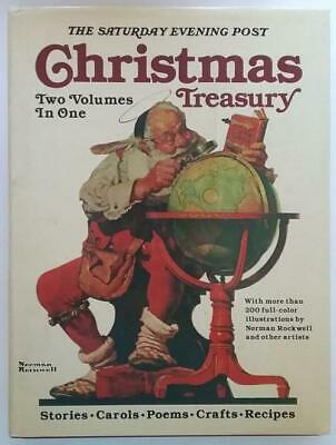 $ CDN33.33 • Buy Saturday Evening Post Christmas Treasury (2 Volumes In One) Norman Rockwell