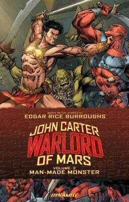 John Carter Warlord Of Mars 2 : Man-Made Monster, Paperback By Marz, Ron; Edg... • 15.47$