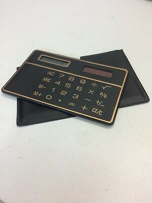 Vintage Credit Card Calculator • 10£