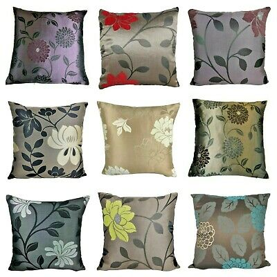 £2.99 • Buy LUXURY Floral Contemporary Design Cushion Covers **9 Designs** 18x18 45cm