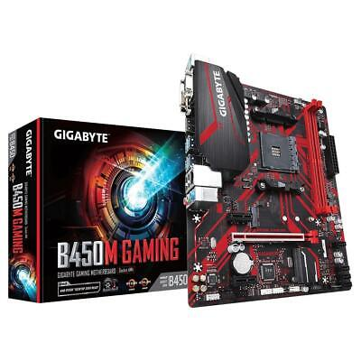 AU169 • Buy Gigabyte B450M GAMING AMD Ryzen AM4 MATX Gaming Motherboard 4x DDR4 M.2 RGB LED