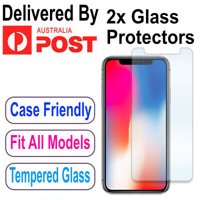 AU3.99 • Buy IPhone XS Max XR 11 Pro Max - 2X Tempered Glass Screen Protector Apple