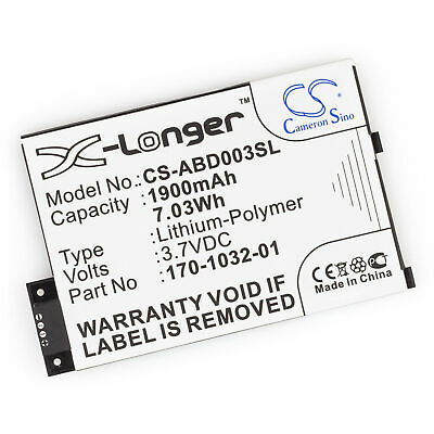 $14.51 • Buy Fresh Battery For Amazon Kindle 3 Wi-Fi EBook Reader 3rd Generation Replacement