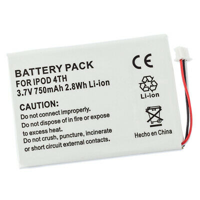 £5.61 • Buy Battery For Apple IPod 4th Generation 4 Gen 616-0183 PE435A A1099 20gb 40gb 60gb