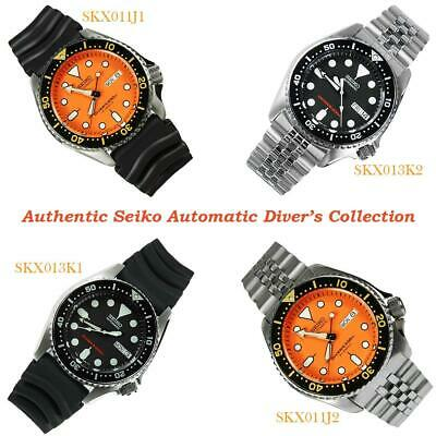 $ CDN438.62 • Buy Seiko SKX013 SKX013K1 SKX013K2 SKX011 SKX011J1 SKX011J2 Jub Rubber Diving Watch