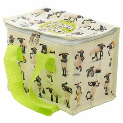 Shaun The Sheep Children's Thermal Insulated Cool Lunch Bag School Sandwich Box • 3.95£