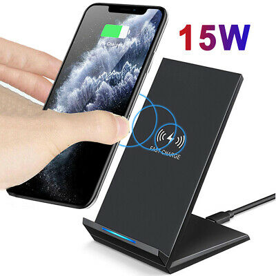 $ CDN15.86 • Buy For Samsung Galaxy Note 10 S10 S9 Plus Qi Wireless 15W Fast Charger Stand Dock