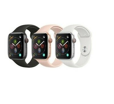 $ CDN317.08 • Buy Apple Watch Series 4 40/44mm Aluminum GPS + GSM Cellular Smartwatch W/Sport Band