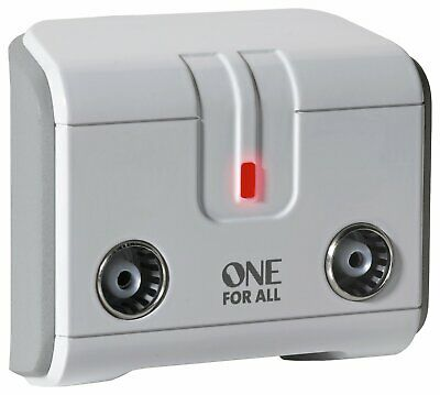 £14.50 • Buy One For All SV9602 2 Way TV Signal Booster