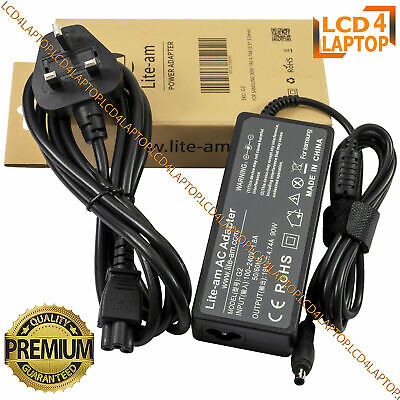 For Samsung NP-RF711 NP-RC710 NP-E352 90W Laptop AC Adapter Battery Charger PSU • 12.49£