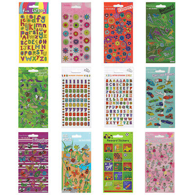 SPARKLE STICKERS Pack Childrens Licensed Characters Fun Birthday Party Gifts • 1.49£
