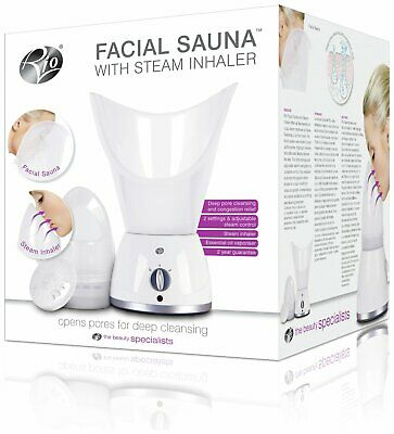 Rio Facial Sauna & Steamer With Steam Inhaler • 24.99£
