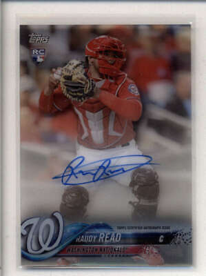 $ CDN7.51 • Buy Raudy Read 2018 Topps Cleary Authentic Rookie Autograph Auto An023