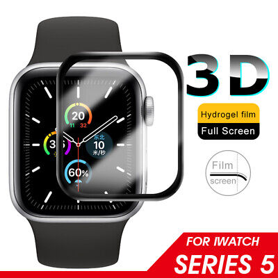 $ CDN2.94 • Buy For Apple Watch Series 5 4 3 2 1 40mm 44mm 3D Tempered Glass Screen Protector US