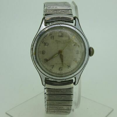 $ CDN36.61 • Buy Vintage M. A. Mead And Co. Swiss Automatic 17J 1256 Silver Tone Watch Parts