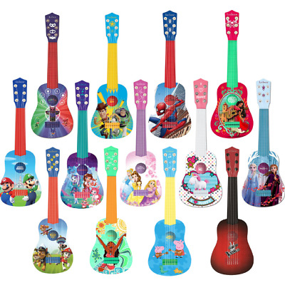 Lexibook My First Toy Guitar For Kids Plastic Nylon Disney Pixar 3+ - 13 Designs • 18.95£
