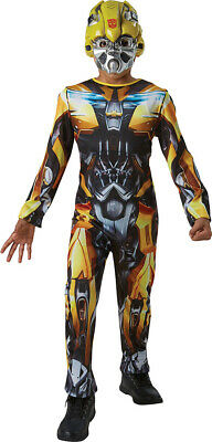 Boys Fancy Dress Party Book Week Day Superhero Bumble Bee Costume Outfit • 26.49£