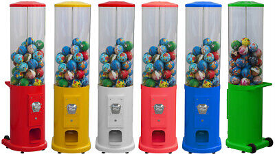 £1 COIN OPERATED TOY VENDING MACHINE. COMMERCIAL GRADE 90mm CAPSULES (SLIMLINE) • 300£