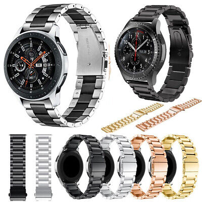 AU15.99 • Buy Stainless Steel  Strap Metal Watch Band For Samsung Galaxy Watch 42/46mm Gear S3