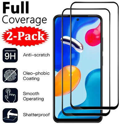 $2.79 • Buy 2X Full Cover Tempered Glass Screen Protector For Xiaomi Redmi Note 6 7 8 Pro 8T