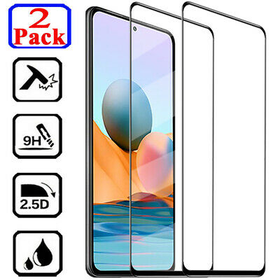 $3.49 • Buy For Xiaomi Redmi Note 9S 9 8 Pro 8T 7 Full Cover Tempered Glass Screen Protector