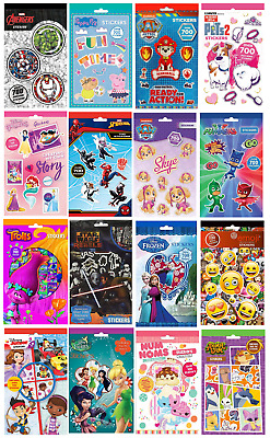 700 STICKERS PAD Set - Party Bag Gift Birthday Xmas Stocking Filler Childrens • 2.25£