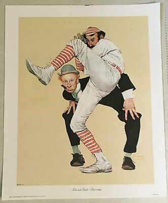 $ CDN12.42 • Buy Norman Rockwell - Low And Inside - July 8, 1939 - Canvas Print (1972) - Baseball