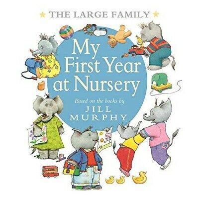 £6.99 • Buy The Large Family: My First Year At Nursery  By Jill Murphy  -  9781406375886