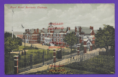 Royal Naval Barracks, Chatham, Kent. Early 1900s Card Which Is Unposted • 2£