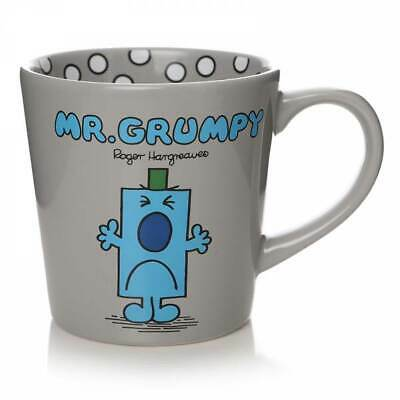 Official Mr Men Little Miss Mr Grumpy Tapered Coffee Mug Cup New In Gift Box • 12.95£