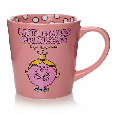 Little Miss Mr Men Little Miss Princess Tapered Coffee Mug Cup New In Gift Box • 10.95£
