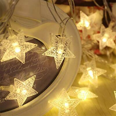 Stars Outdoor Indoor Rope Lights For Christmas Tree Diwali Wedding Birthday New  • 25$