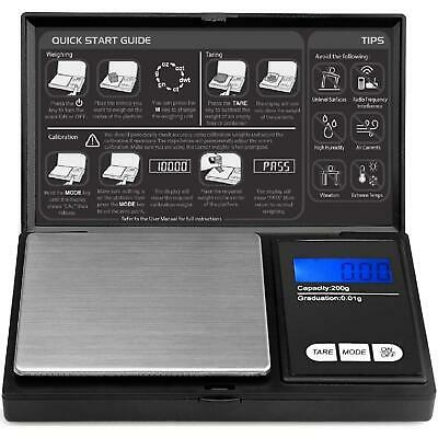 AU12.99 • Buy Pocket Digital Scales 0.01g 200g Jewellery Gold Weighing Mini LCD Electronic