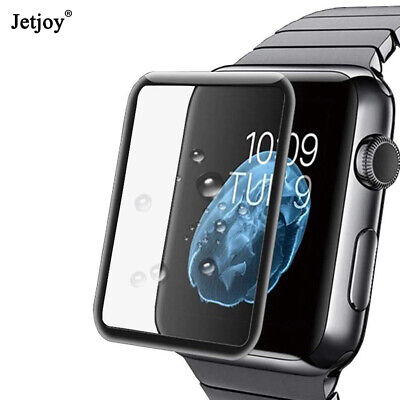 $ CDN3.34 • Buy Screen Protector Full Coverage Protective For IWatch 5 4 3 2 1 Tempered Glass X2