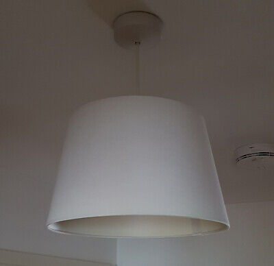 £11.99 • Buy Modern Light Shade Drum Ceiling Shade Pendant LargeTapered 12 Inch In 7 Colours