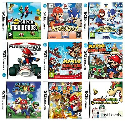 Ds - Mario - Same Day Dispatched - Boxed - VGC - Nintendo Choose Game • 6.97£